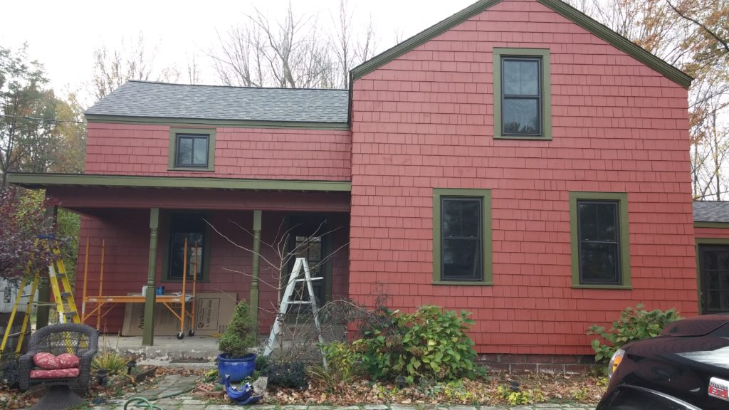 After New Paint Job: North Ridgeville Farmhouse