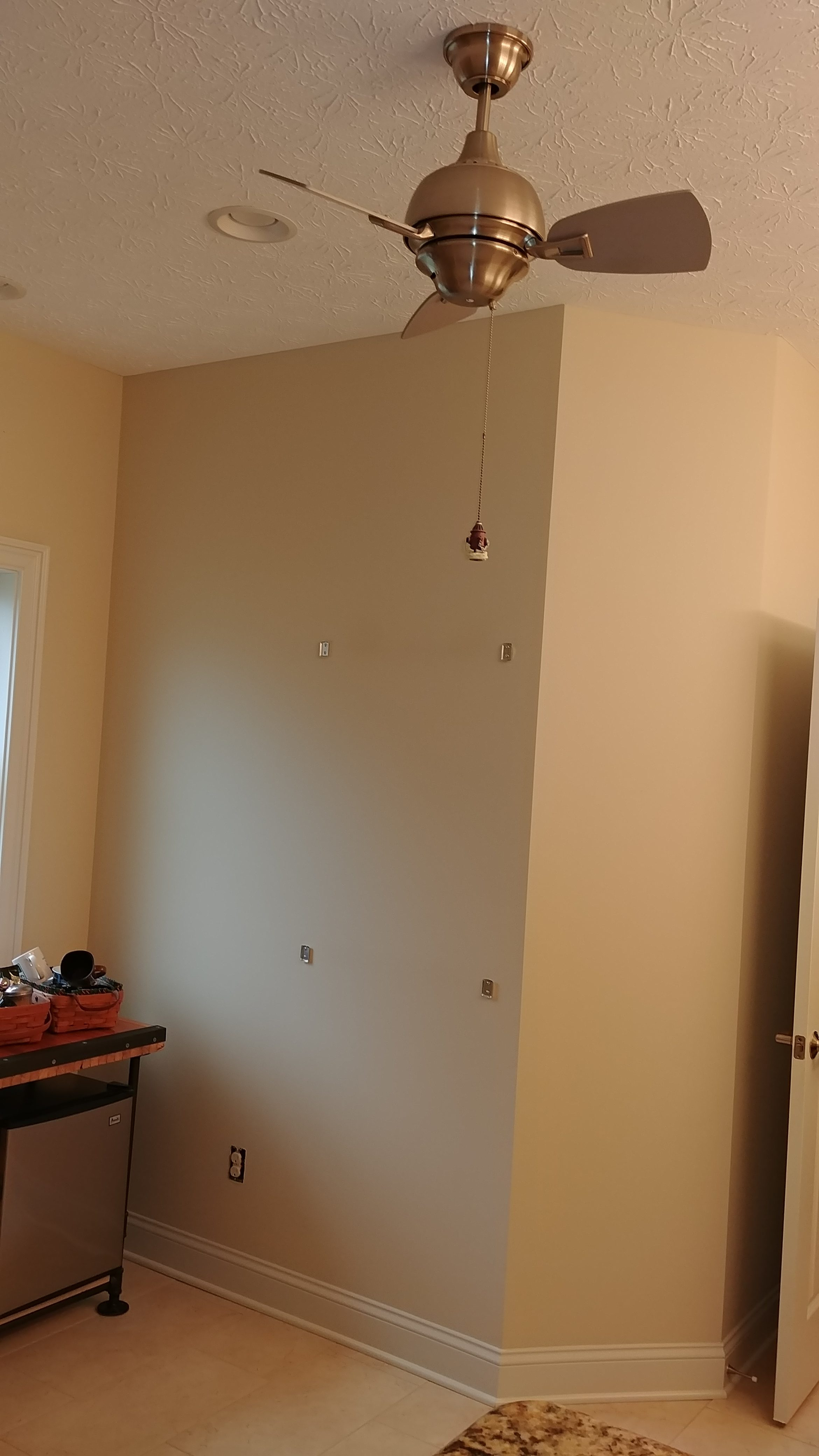 Before - Interior Painting of a home in Eaton Township