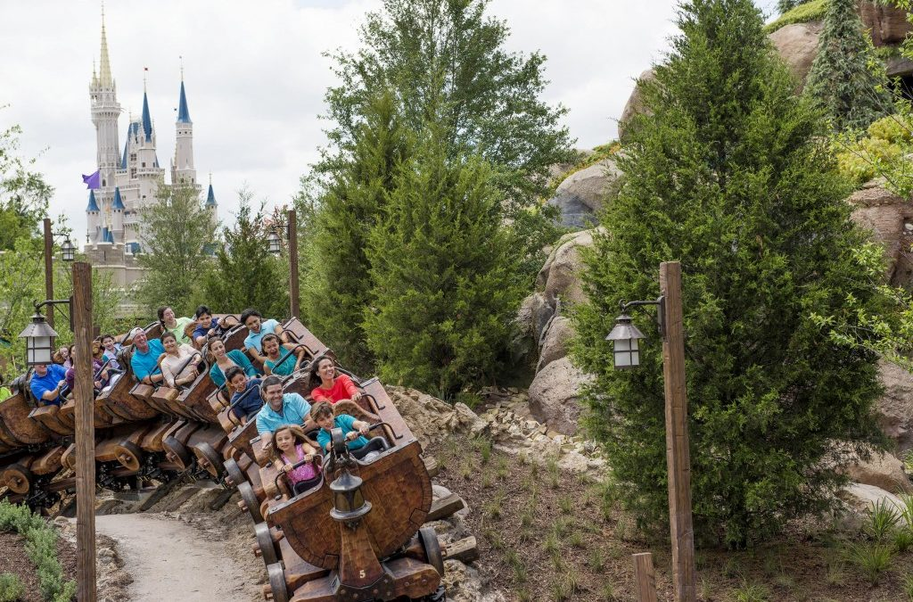 Seven Dwarfs Mine Train - WDW