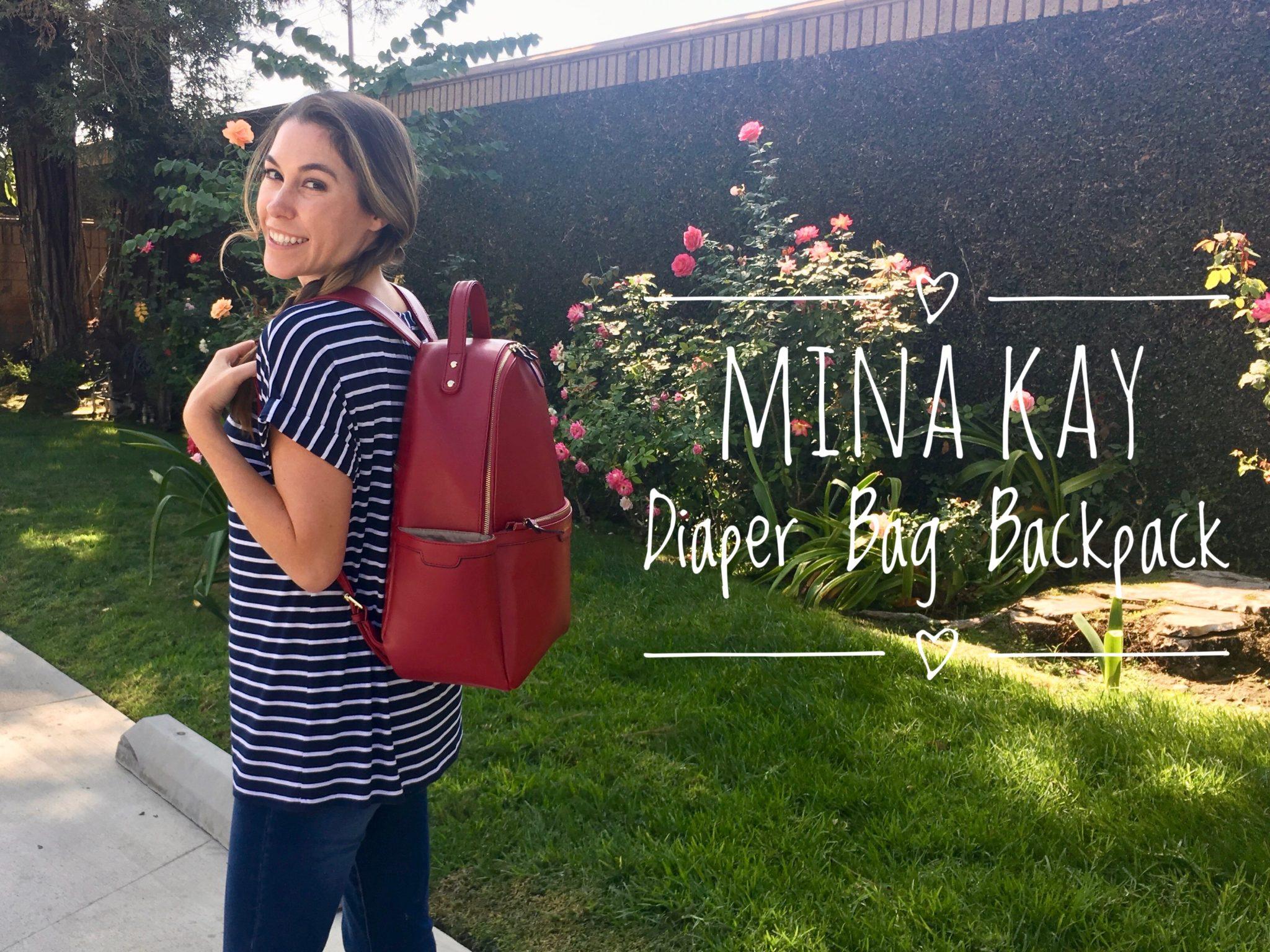 Mina Kay Diaper Bag Backpack