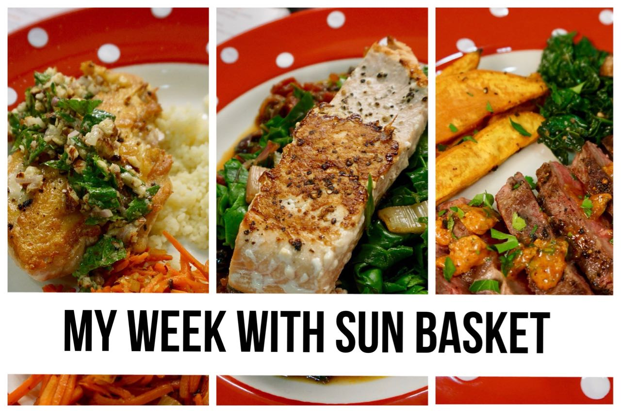 My Week With Sun Basket