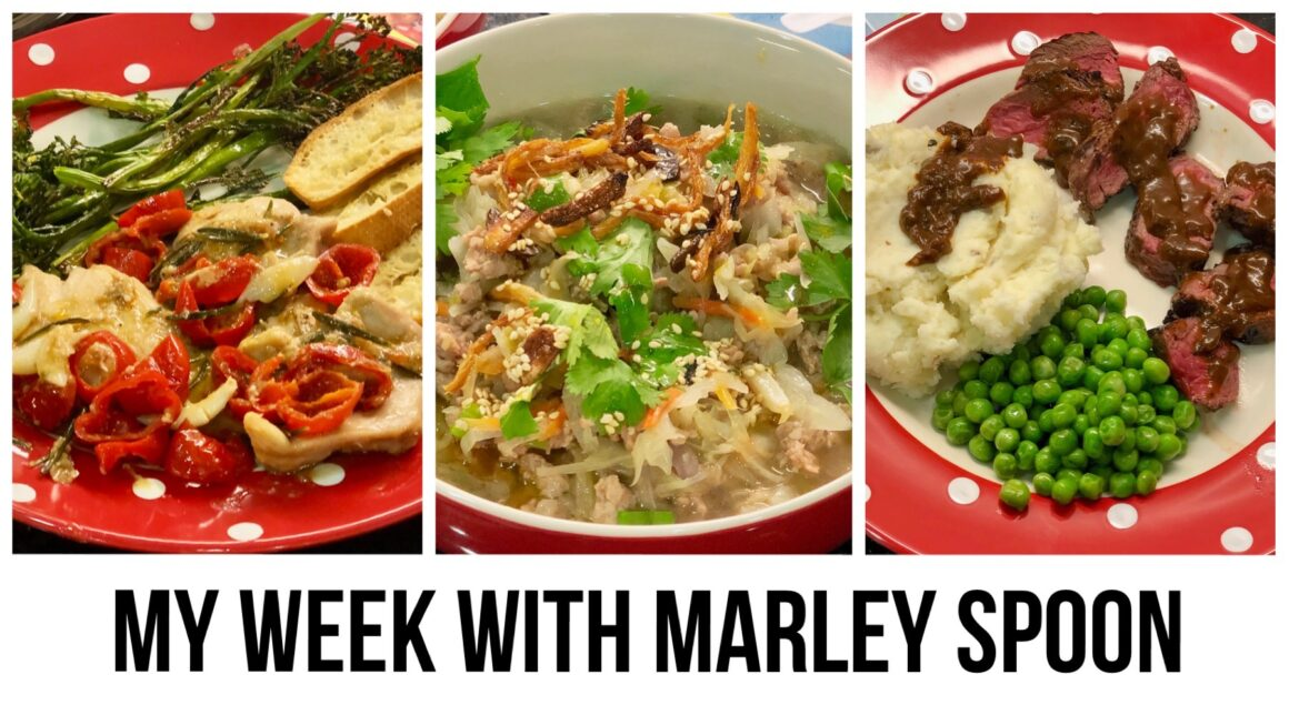 My Week with Marley Spoon