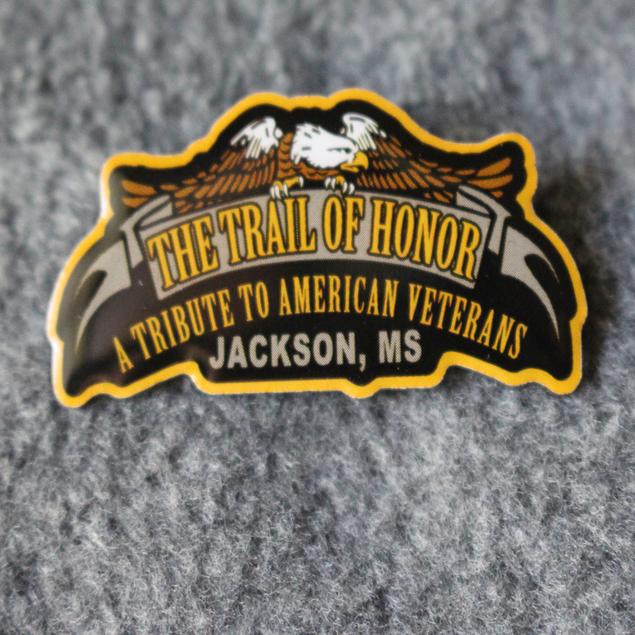 Tail Of Honor Pin