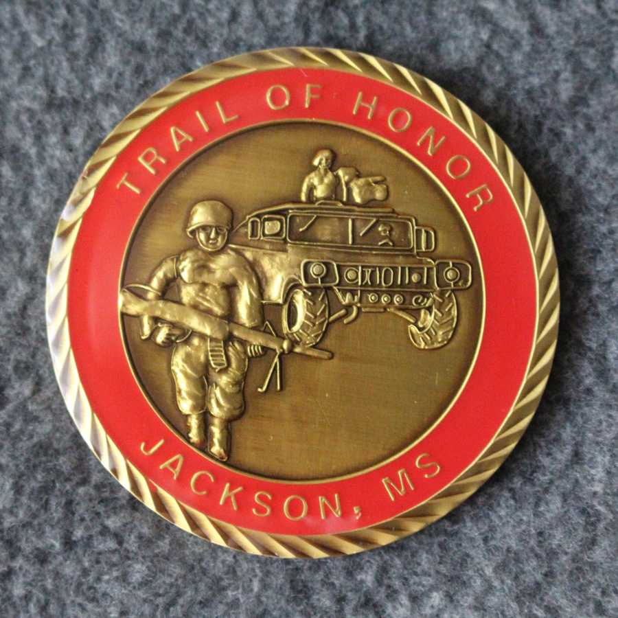 Trail Of Honor Coin Side1