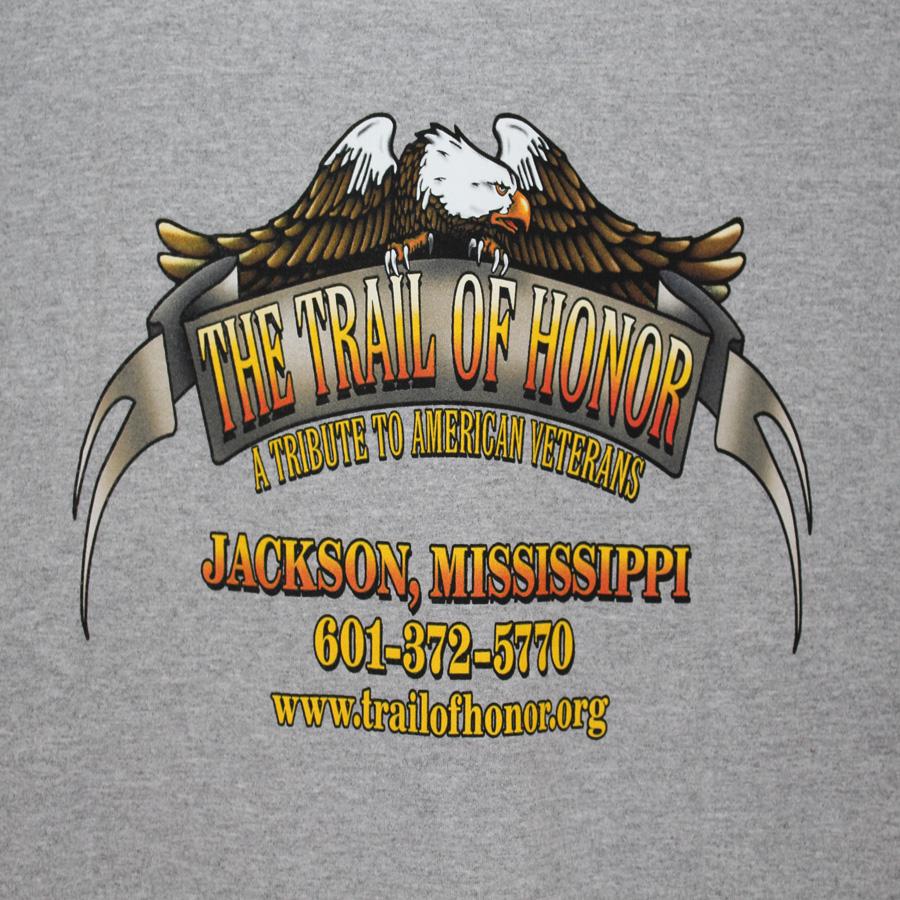 Trail Of Honor Tee Shirt Back