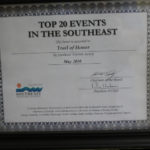 2010 STS TOP 20 Event Southeast Certificate