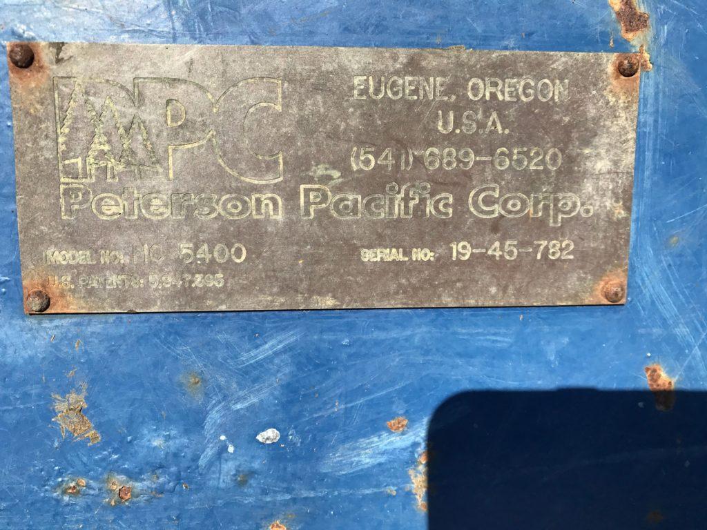 2001 Peterson Pacific HC5400