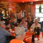 Lunch at Sandy's in Fort Branch
