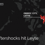 Strong aftershocks follow Leyte quake