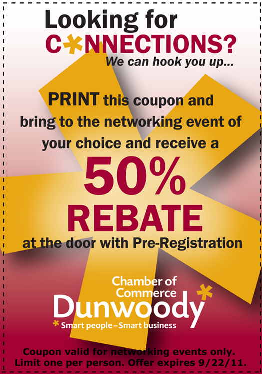 Dunwoody Chamber Coupon