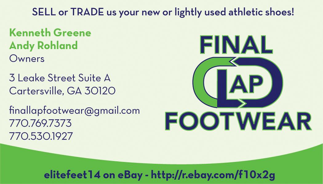 Final Lap Business Card