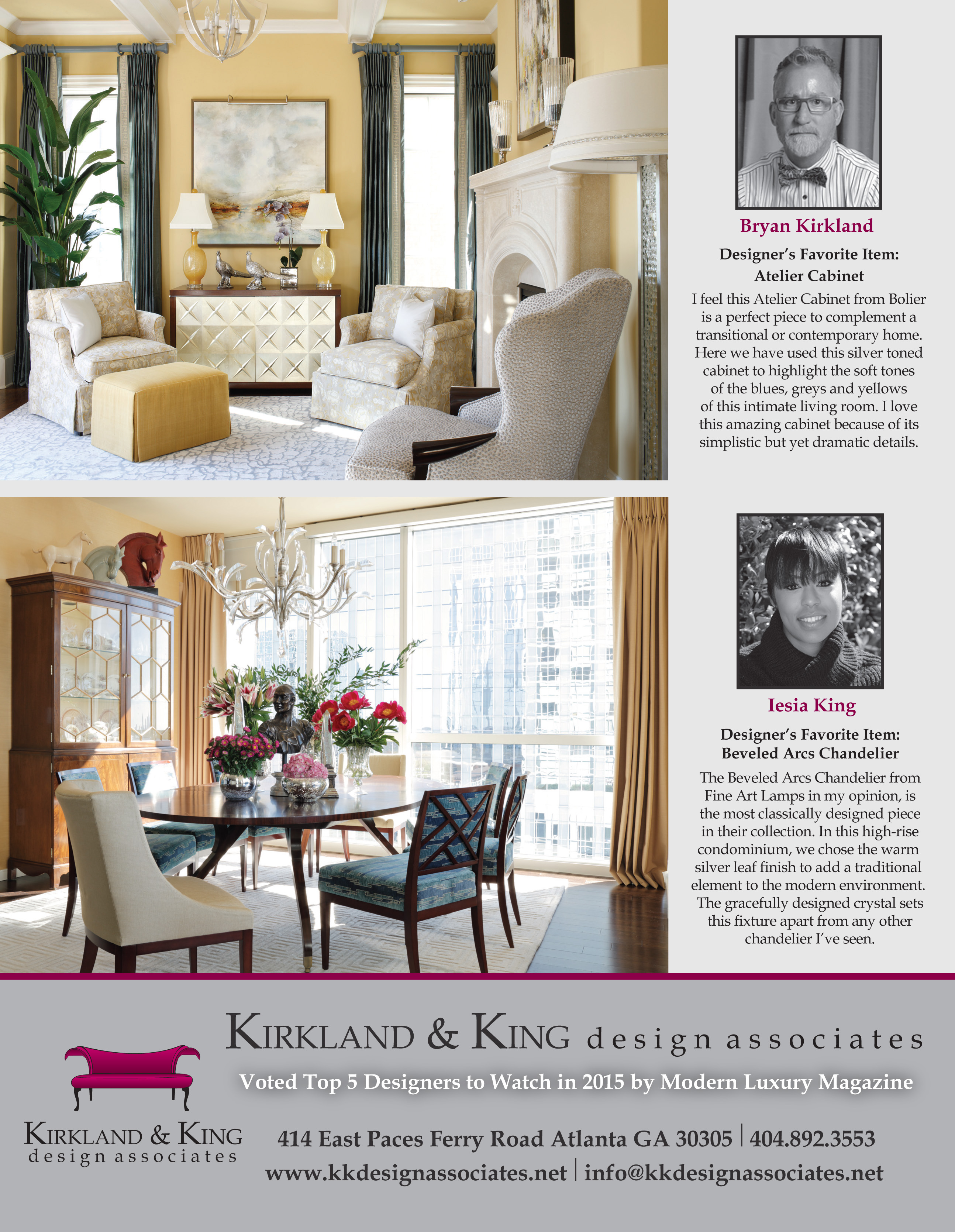 KK Design Associates Ad