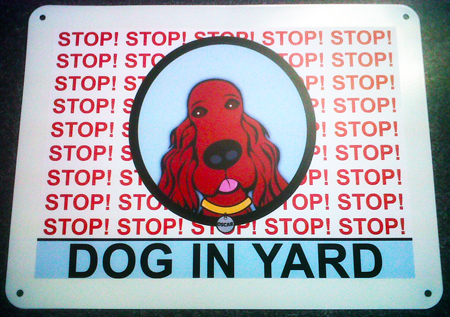 Oscar Yard Sign