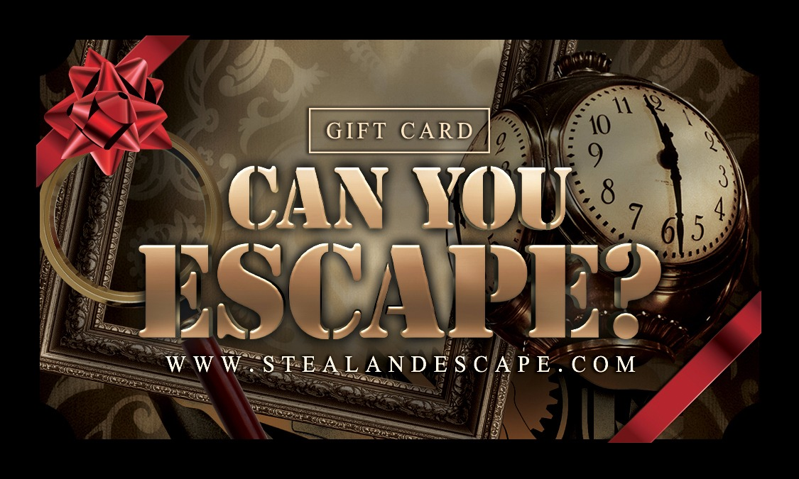 Steal and Escape Gift Card