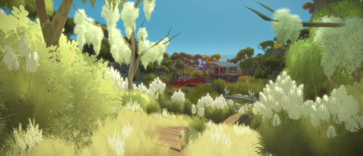 screenshot of The Witness