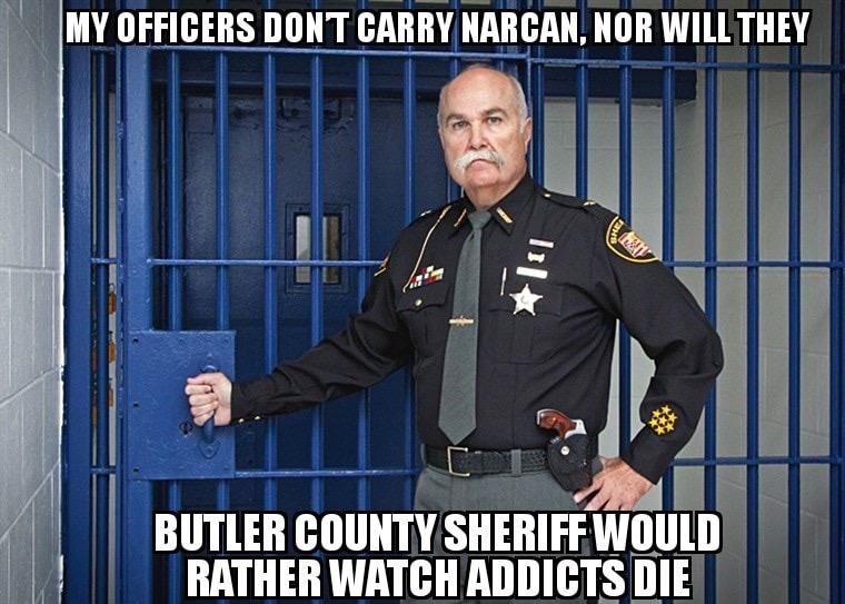 Butler County sheriff