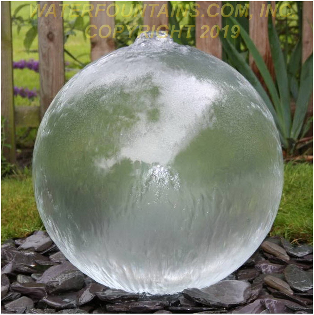 ACRYLIC SPHERE FOUNTAIN - 002