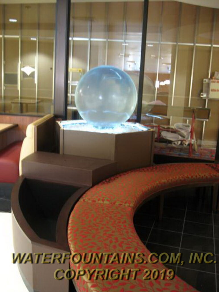 ACRYLIC SPHERE FOUNTAIN - 019