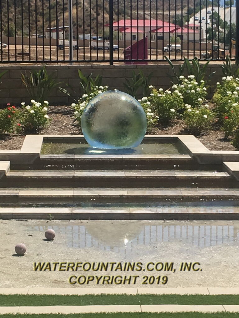 ACRYLIC SPHERE FOUNTAIN - 032