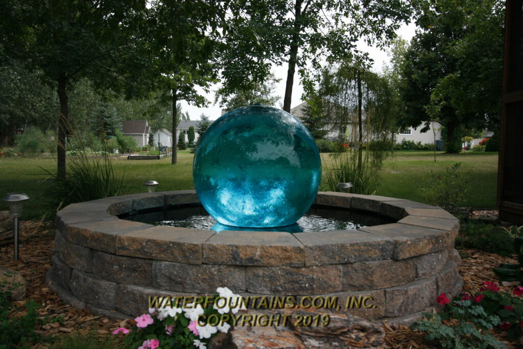 ACRYLIC SPHERE FOUNTAIN - 036