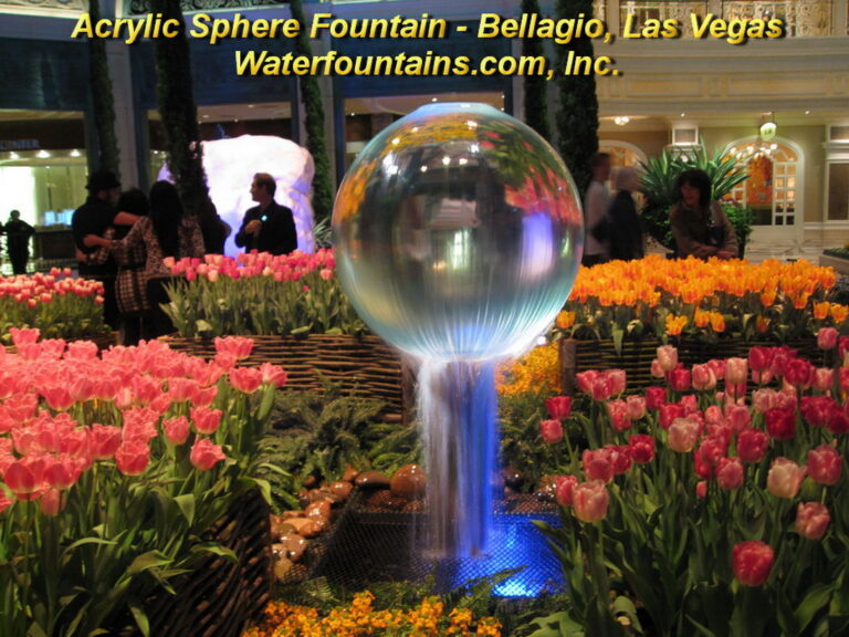 Main 007 Acrylic Sphere Fountain
