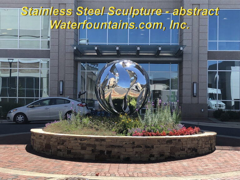 Main 008 Stainless Steel Sculpture sphere