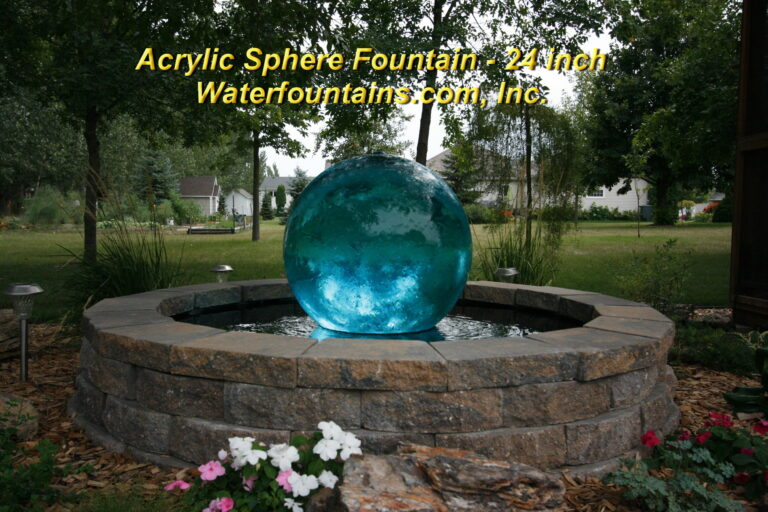 Main 011 Acrylic Sphere Fountain