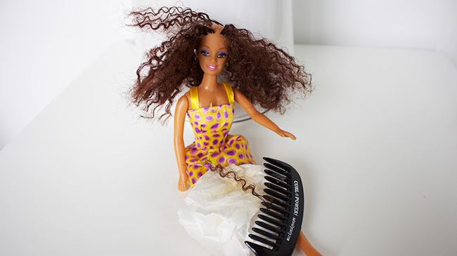 first-doll-mielle-organics-hair-and-comb