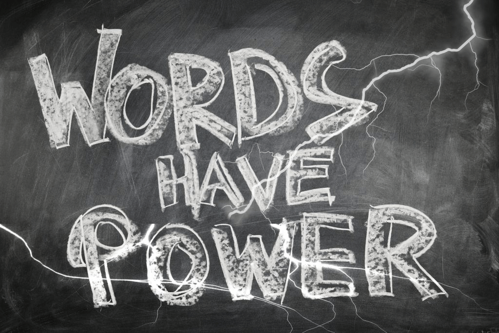 Some Thoughts on Thoughts: The Power of Words