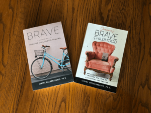 Covers of the two Brave Books - Jeannie's Brave Childhood – There is Hope