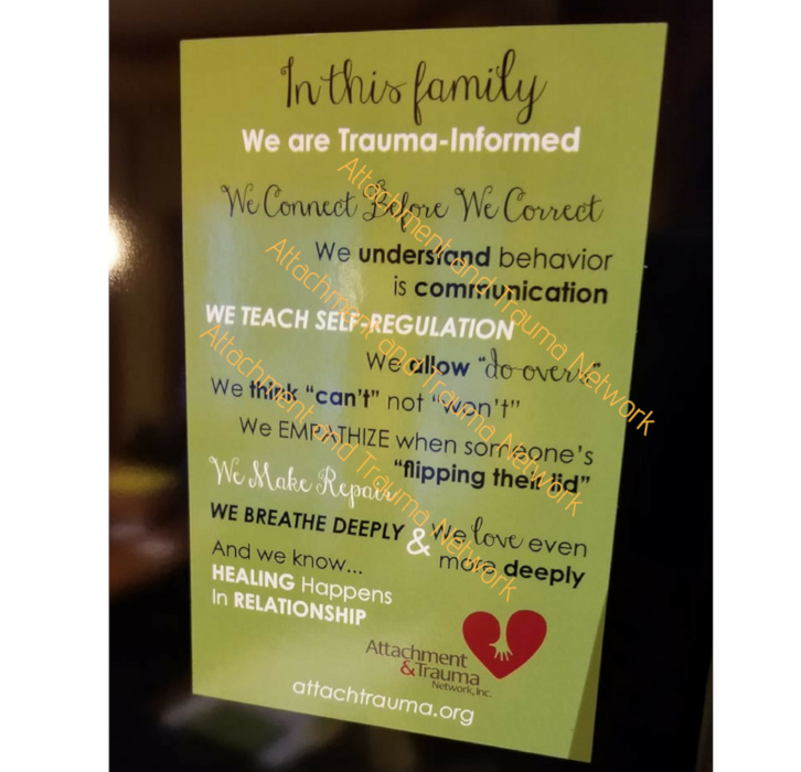 Trauma-Informed Magnets Available