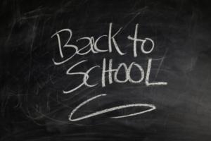 Back to School Chalkboard