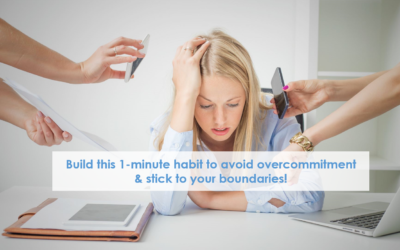 Tired of Feeling Perpetually Overscheduled?
