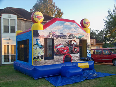 Lightening Mcqueen Bounce House