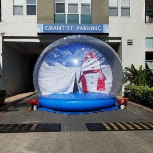 life sized snow globe