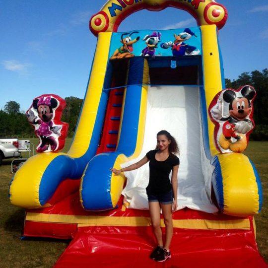 Mickey Club 18 ft Slide