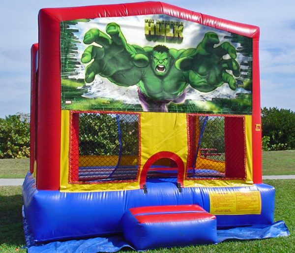 Hulk Themed Bounce House