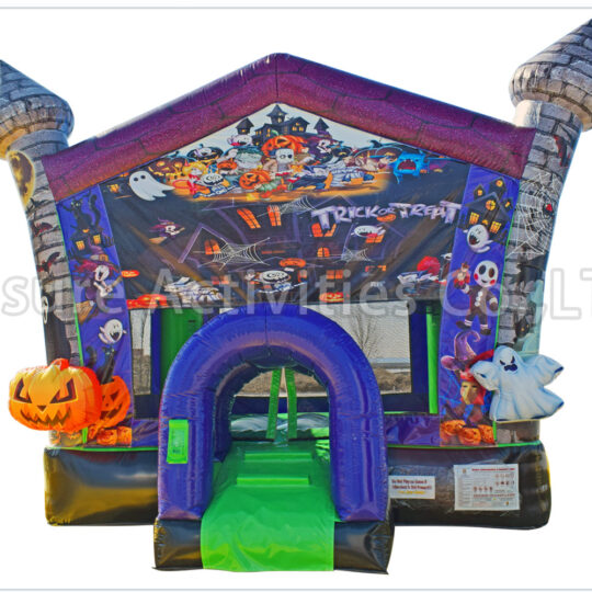 Halloween Haunted Bounce House