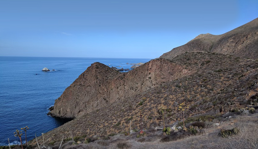 The landscape surrounding North America's largest blowhole, La Bufadora, is rugged and beautiful. Just a few miles from La Jolla Beach Camp, Rolling Rally participants will have ample time to explore the area and enjoy its essence. Photo by Jean Pedersen