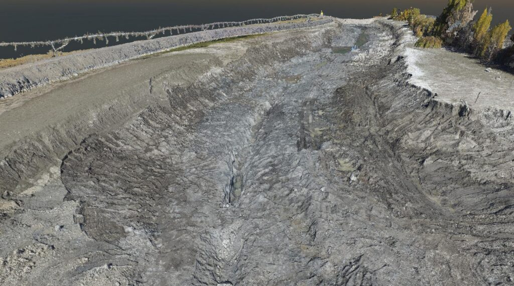 Final Excavation Point Cloud