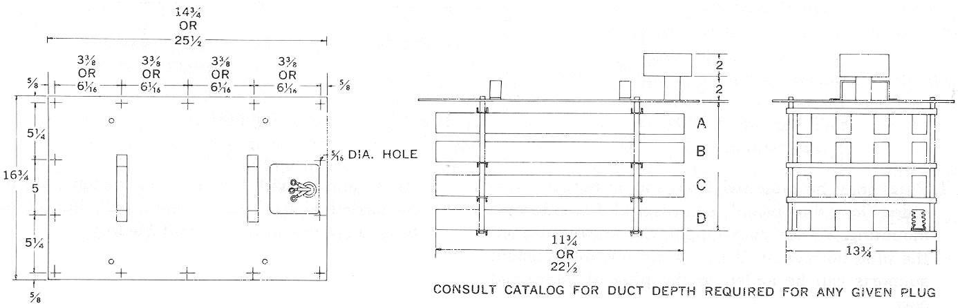 TRENT High Temperature Plug Heater Diagram