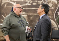 December  9, 2019: Senator Jay Costa hosts his second ACA enrollment event at the Pittsburgh Fire Fighters Union Hall.