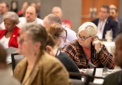 January 29, 2019: Senator Jay Costa speaks at AFL-CIO annual legislative conference.