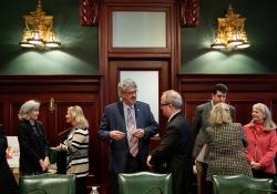 March 27, 2019: Senator Costa attends Pennsylvania Legislative Arts & Culture Caucus meeting.