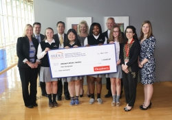 Bridge Educational Foundation Check Presentation at the Braskem Technology Headquarters :: May 3, 2017