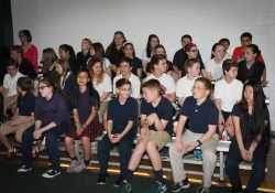 April 29, 2015: Senator Costa attends Bridge Educational Foundation to Present over $23,000 in Scholarship Money through Pa's Educational Improvement Tax Credit program.
