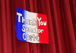 May 21, 2015: Senator Costa attends Presentation of Opportunity Scholarships from the Bridge Educational Foundation