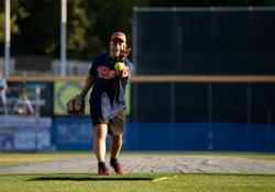 September 24, 2019: Senator Jay Costa participates in the 2019 Capitol All-Stars Legislative Softball Game to Benefit Hunger-Free PA and Feeding Pennsylvania.