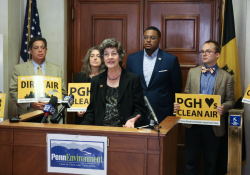 August 28, 2019: Sen. Costa joined area elected officials and PennEnvironment Research and Policy Center representatives to call for clean air initiatives.