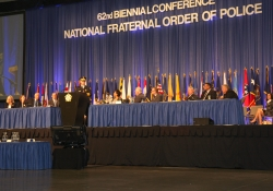 August 10, 2015: Senator Costa Attends the FOP - 62nd National Biennial Conference and Expo